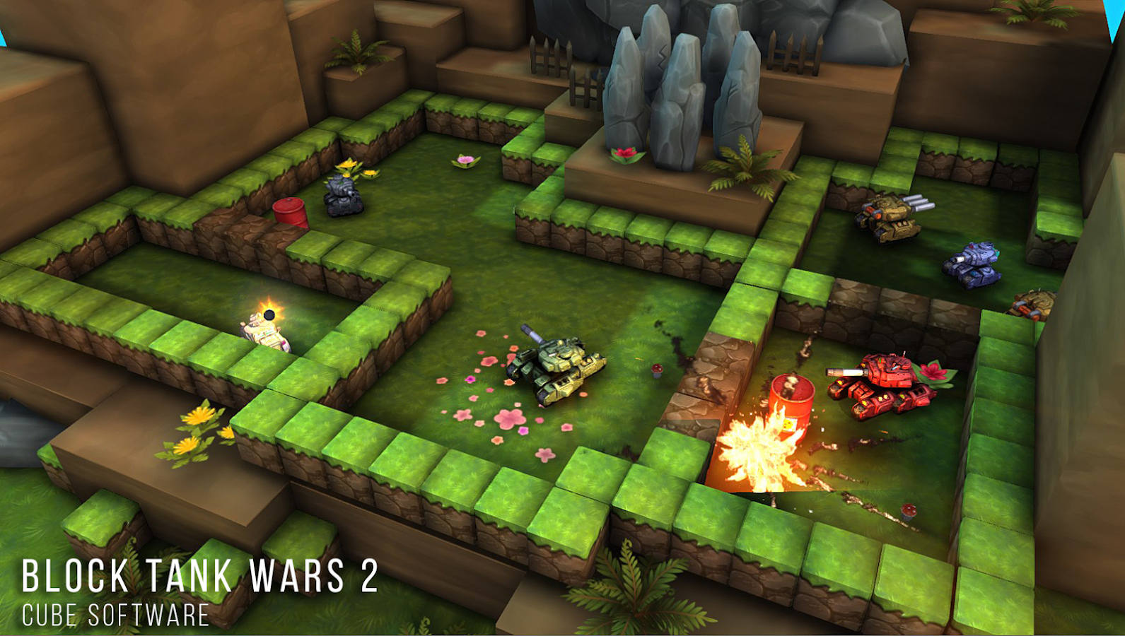 Block Tank Wars 2 Premium Screenshot 0