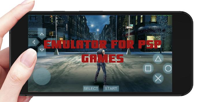 Emulator For PSP Games APK screenshot thumbnail 1