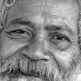 Chacha  by Asif Bora - Black & White Portraits & People (  )