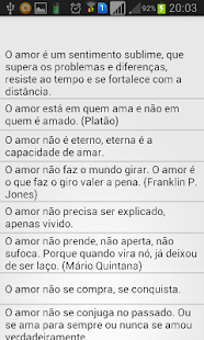 Frases de amor SMS- screenshot