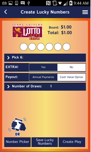 Texas Lottery Official App For PC