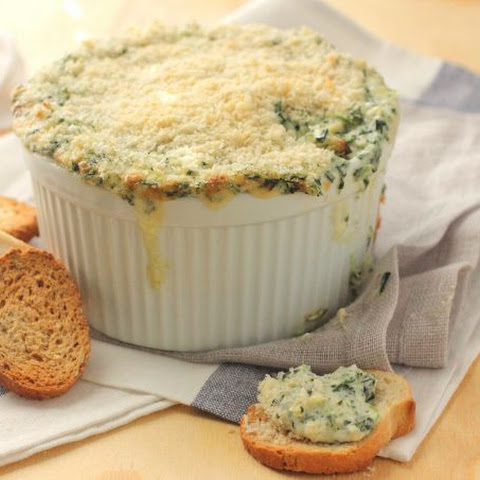 Spinach Artichoke and Crab Dip