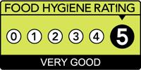 Food hygiene rating is '5': Very good