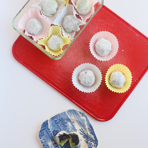 How to make Daifuku Mochi (12-14 pieces)