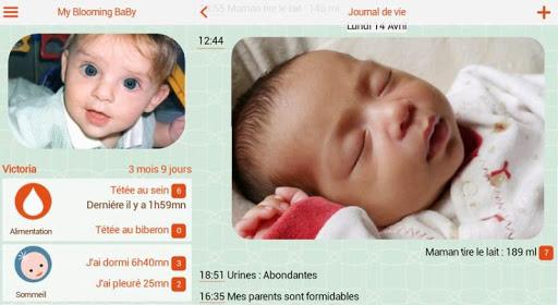 Bébé soins et croissance - screenshot