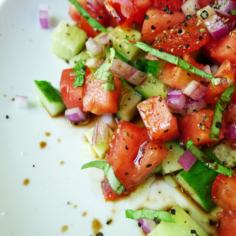 Another Tomato & Cucumber Salad