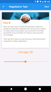 Negotiation 360 screenshot for Android