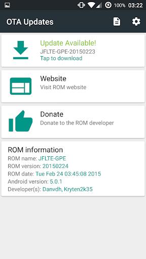 OTA Updates Pro [ROOT] - screenshot