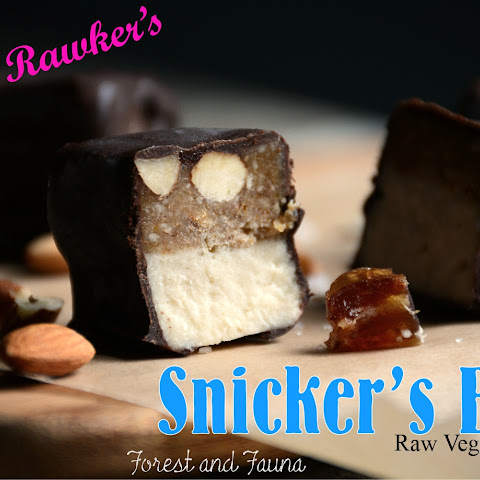 Raw Paleo Snickers Bar