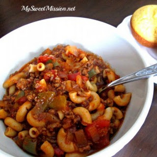 Savory Hamburger Goulash