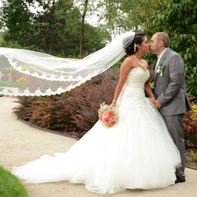 Love by Michelle J. Varela - Wedding Bride & Groom