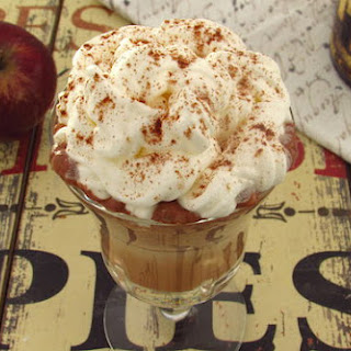Chocolate, Apple And Cinnamon Milk Shake
