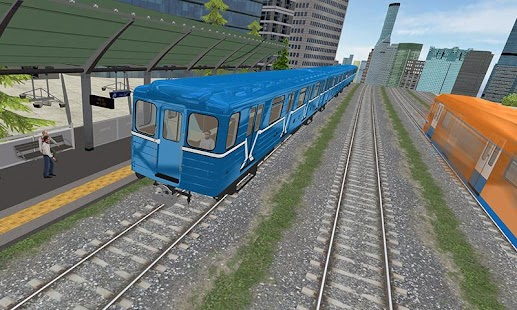 Driving Metro Train Sim 3D APK for Bluestacks