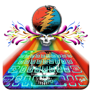 Download Grateful Dead Keyboard Theme for Windows Phone