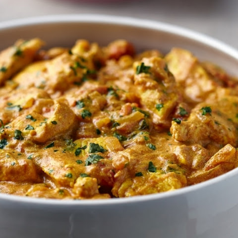 Creamy Malabar Chicken Curry with Fragrant Coriander Coconut Rice