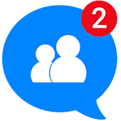 Messages, Text and Video Chat for Messenger Icon