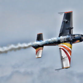 Going Inverted by DB Channer - Transportation Airplanes