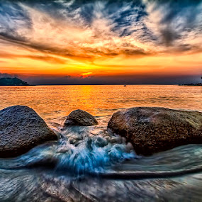 "Furious by Partha Roy - Landscapes Waterscapes ( ""pwcredscapes"", pwcredscapes,  )"