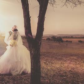 Dream by Lodewyk W Goosen (LWG Photo) - Wedding Bride & Groom ( love, wedding photography, wife, weddings, wedding, couple, bride and groom, husband, bride, people, groom, couples )
