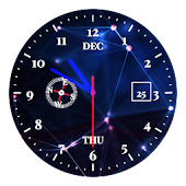 Designer Tech Clock Live wallpaper APK for Bluestacks