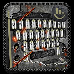 3D Gunnery Bullet Keyboard Theme For PC / Windows 7/8/10 / Mac – Free Download