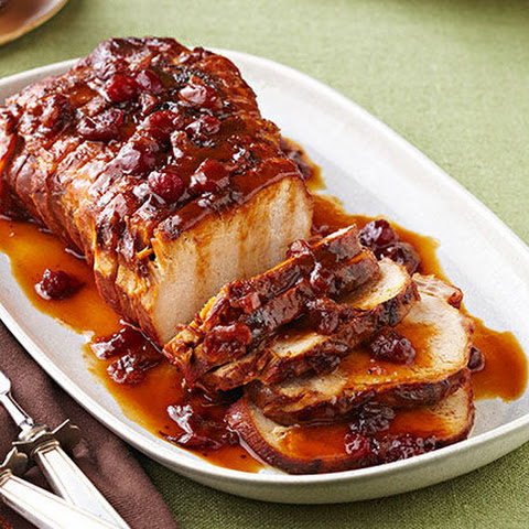 Slow-Cooker Cranberry-Orange Pork Roast