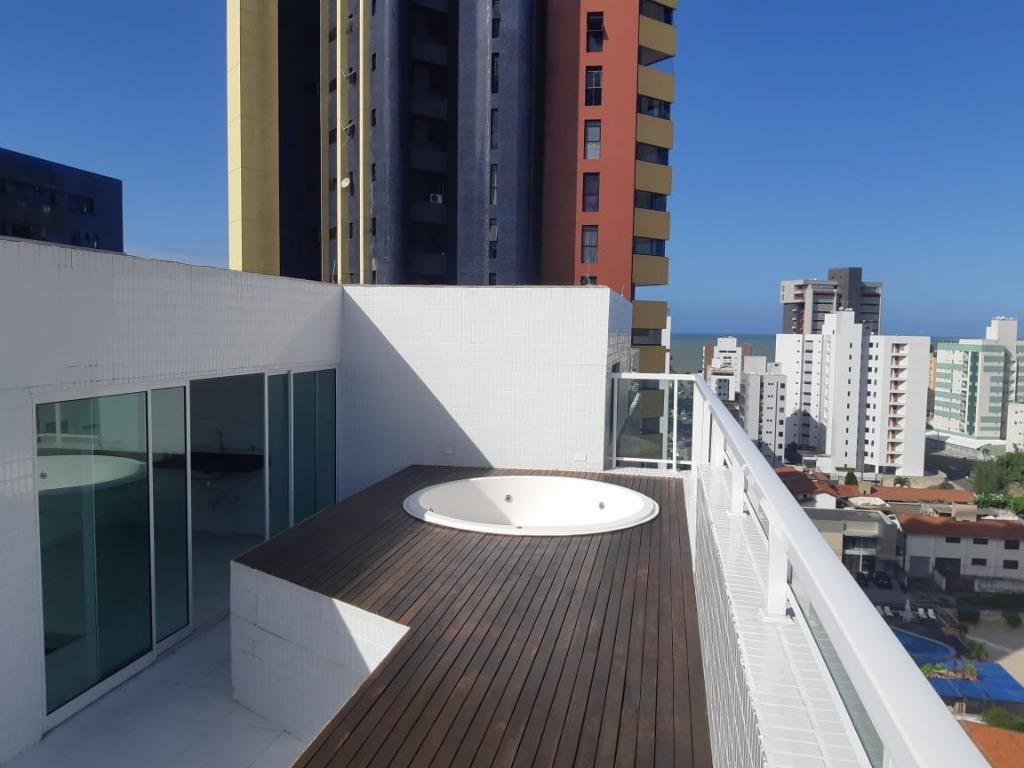 Cobertura com 3 dormitórios à venda, 128 m² por R$ 490.000 - Manaíra - João Pessoa/PB