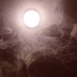 Room of Stone(rs) by Davina Michelle - Novices Only Objects & Still Life ( blank, white, air, light, tan, smoke, formation )