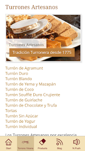 Torrons Vicens - screenshot
