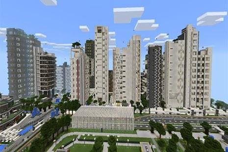 Free NxusMas City map for MCPE APK for Windows 8