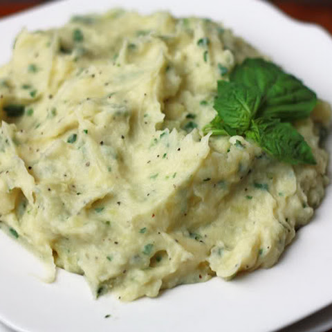 Parmesan Basil Potato Puree