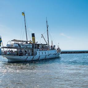 S/S Trafik by Tony Mortyr - Transportation Boats ( steam ship, boat )