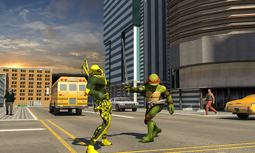 Ninja Turtle Warrior For PC