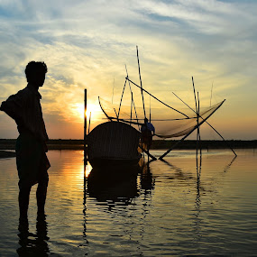 OUR PASSION....THEIR OCCUPATION by Dipankar Singha - Landscapes Sunsets & Sunrises