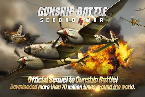 Download Android Game GUNSHIP BATTLE: SECOND WAR for Samsung