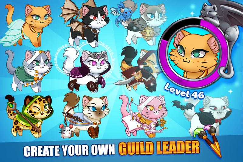 Castle Cats:  Idle Hero RPG Screenshot 12