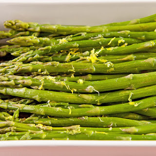 Asparagus with Lemon-Butter