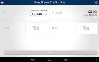 Screenshot of Point Breeze Credit Union