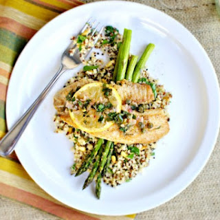 Pan-seared Tilapia with Lemon and Caper Sauce