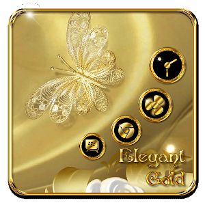 Download Golden Butterfly Flowers For PC Windows and Mac