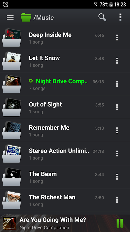 PlayerPro Music Player Screenshot 5