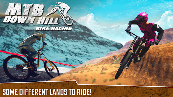 MTB Downhill Bike Simulator