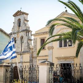 Lefkada Town by Andreea Diana Furnea - City,  Street & Park  Neighborhoods ( greece, buildings, lefkada, travel, city )