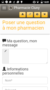 Pharmacie Cluny - screenshot
