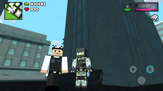 Diverse Block Survival Game Screenshot