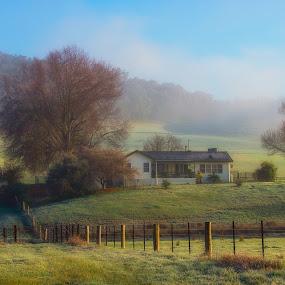 Dream Home by Zubair Aslam - Landscapes Travel ( blackandwhite, winter, fineart, melbourne, black and white, australia, pier, long exposure, travel, portsea, seascape, longexposure )