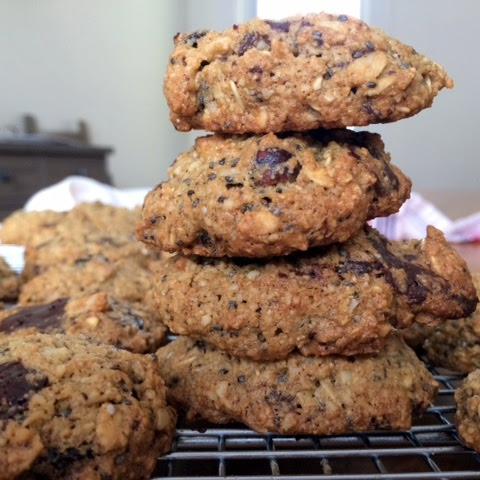 Healthy Trailmix Cookies