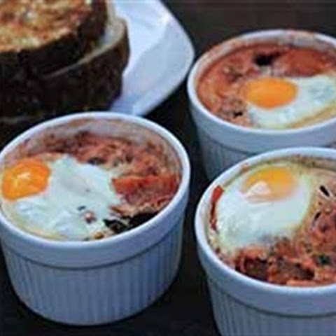 Brilliant Baked Eggs