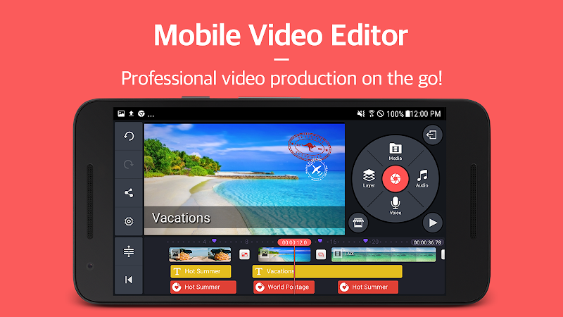 KineMaster – Pro Video Editor Screenshot 0