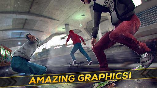 Subway Skateboard Ride Tricks - Extreme Skating screenshot 8
